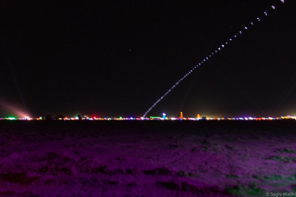 The city at night, so many lights!