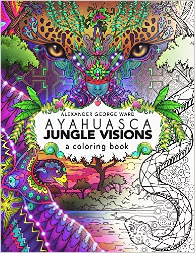 got gifted this beautiful coloring book by the artist!