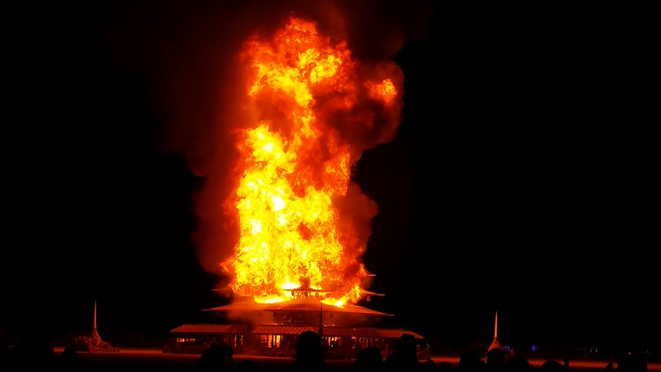 Temple burn (photo by Liz Altmiller)