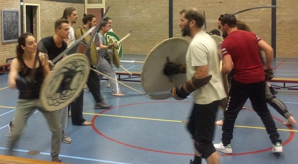 That shield was sooo heavy!